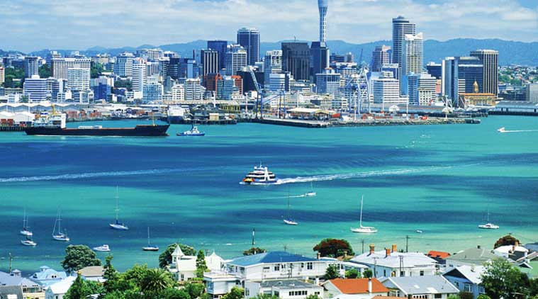 A Beautiful City In New Zealand Auckland Fotolip Com